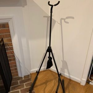 Cello and guitar folding stand